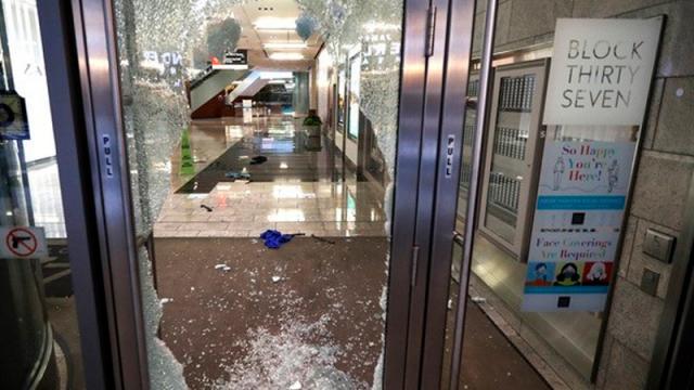 Chicago disturbios