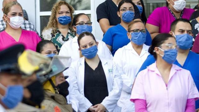 Personal de salud ante contingencia sanitaria por el Covid-19