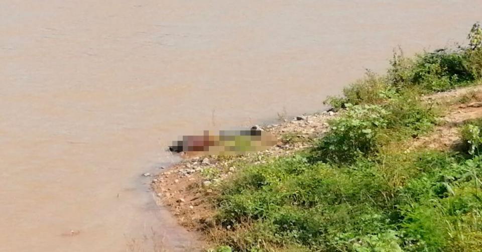 Cadáver en río Mascota