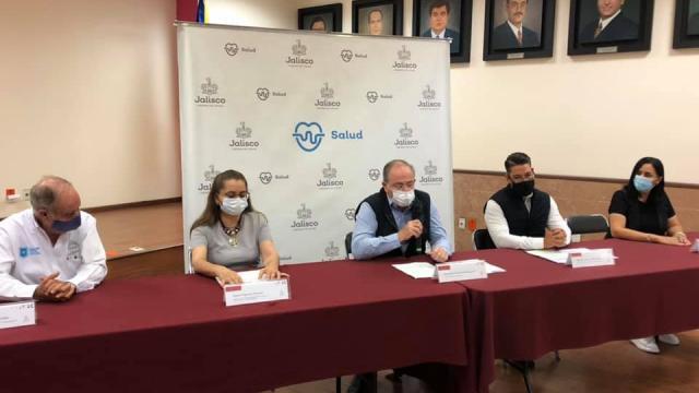 Conferencia de prensa Salud Jalisco