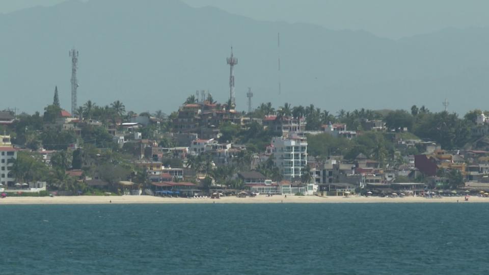 Playa en Riviera Nayarit