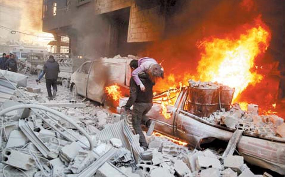 Guerras en Siria