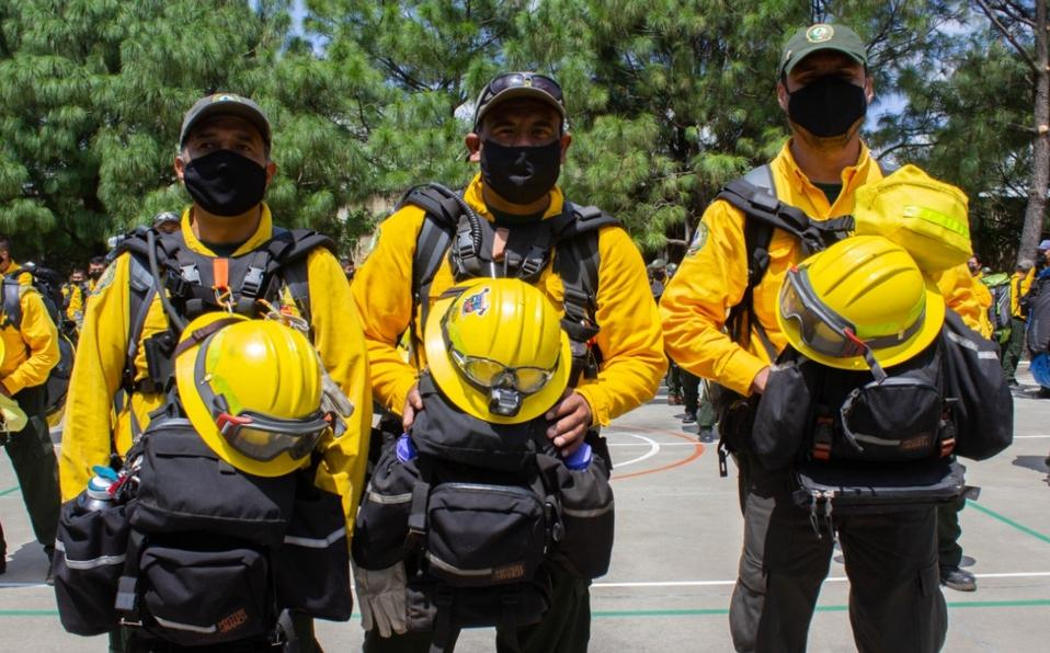 Conafor envió a mexicanos a sofocar el incendio de California en Estados Unidos