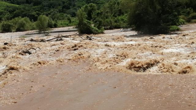 El río Ameca en niveles seguros para Vallarta y Bahía