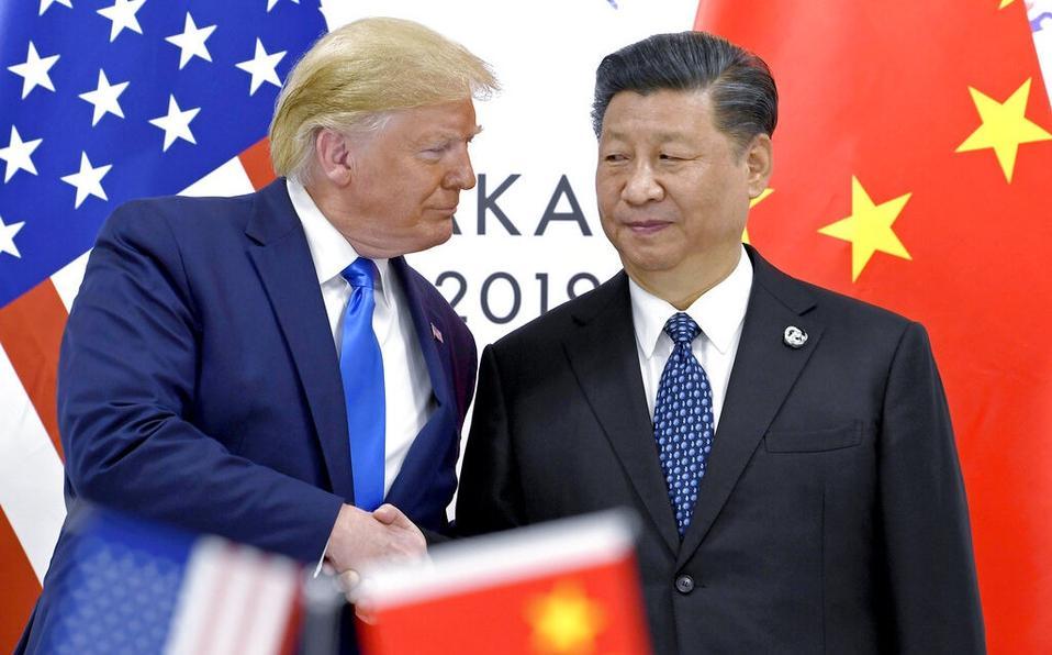 Presidente de China y presidente de Estados Unidos