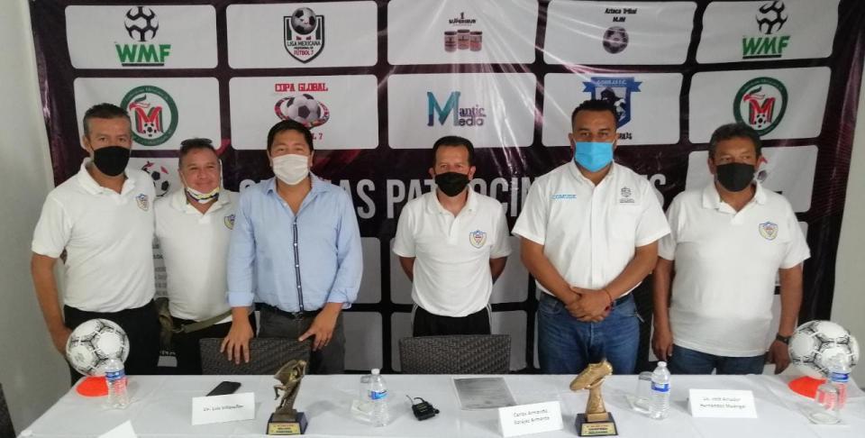 Rueda de prensa Fútbol 7