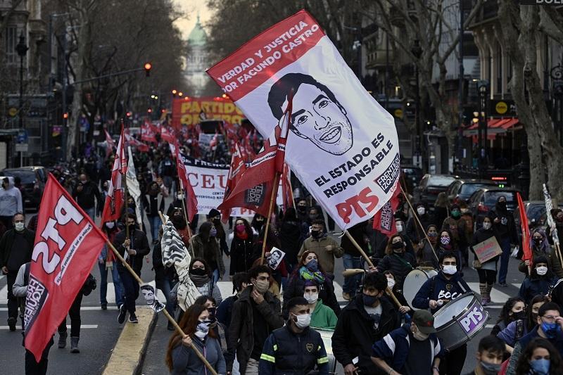 Marcha para exigir justicia por Facundo