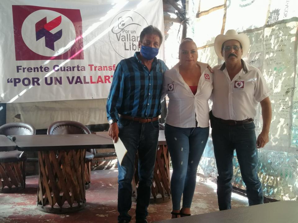 Representantes de Morena en Puerto Vallarta