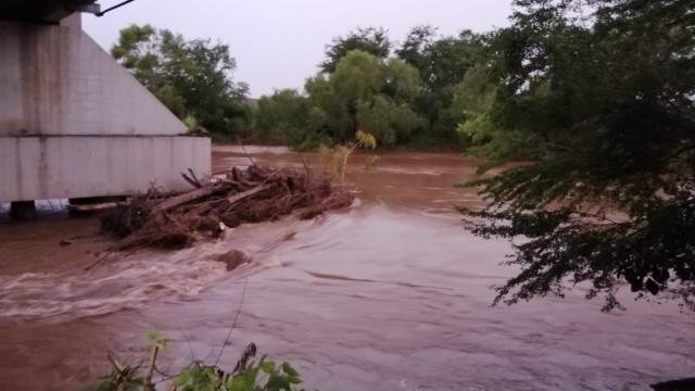 Lluvias no afectan río Ameca