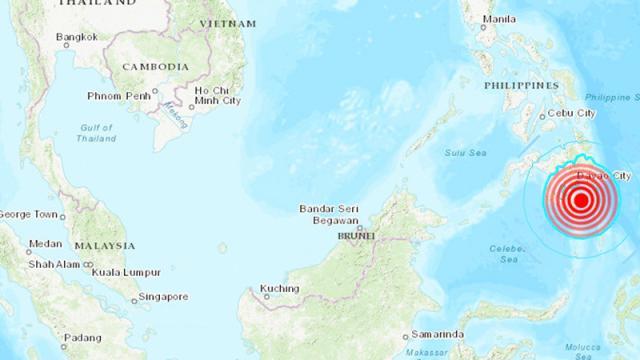 sismo de magnitud 6,3