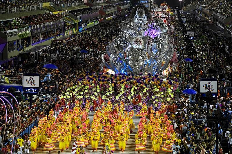 Carnaval de Río de Janeiro en Brasil