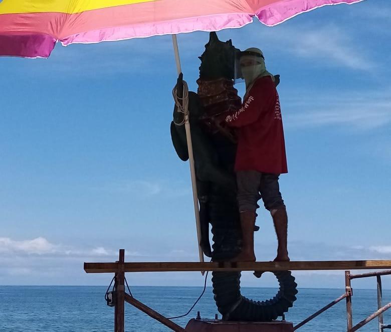 Estatua Caballito del Mar