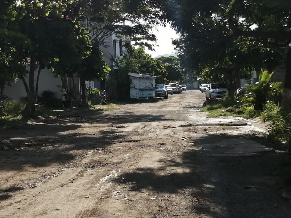 Calles destruidas