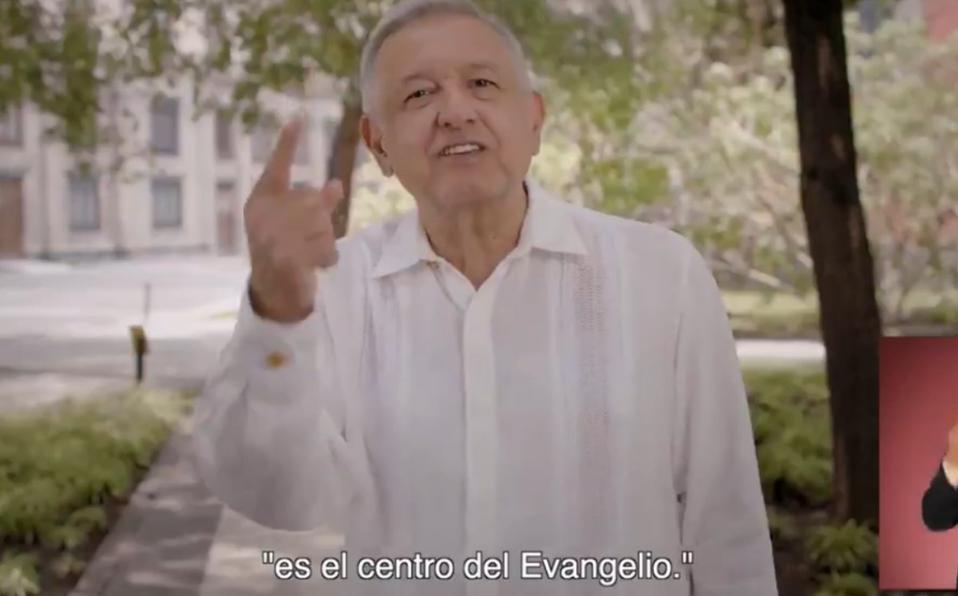 AMLO cita al papa Francisco