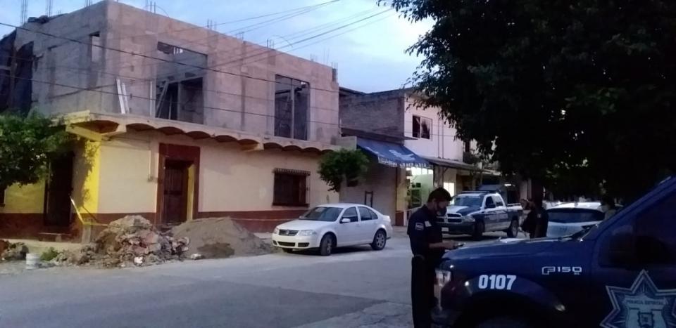 Policía municipal en San Juan de Abajo, Nayarit