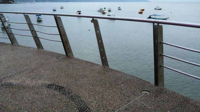 Peligro del Muelle de Los Muertos