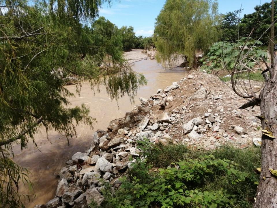 Escombro Río Piillal