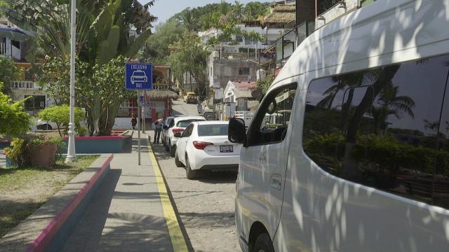 Sitio de taxis en Riviera Nayarit