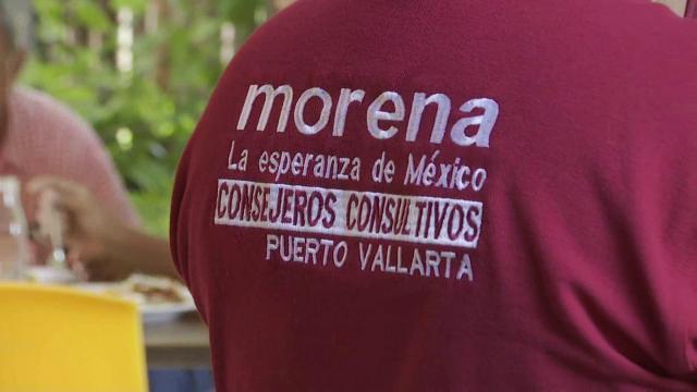 Miembro del partido de Morena