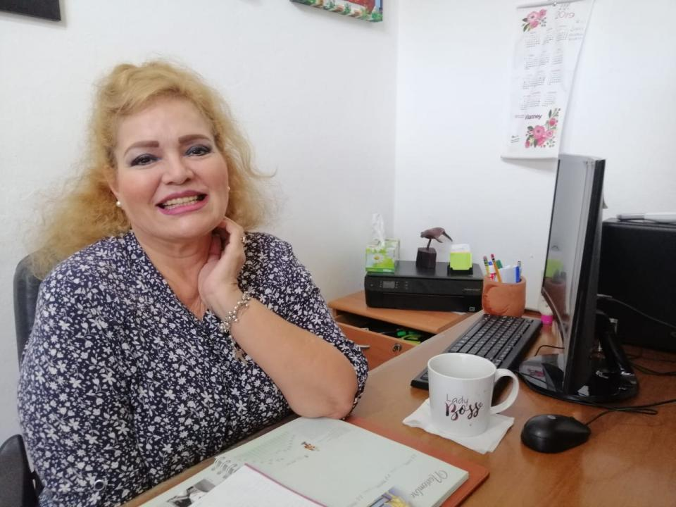 Edelmira Orizaga Rodríguez, busca la presidencia municipal de Vallarta
