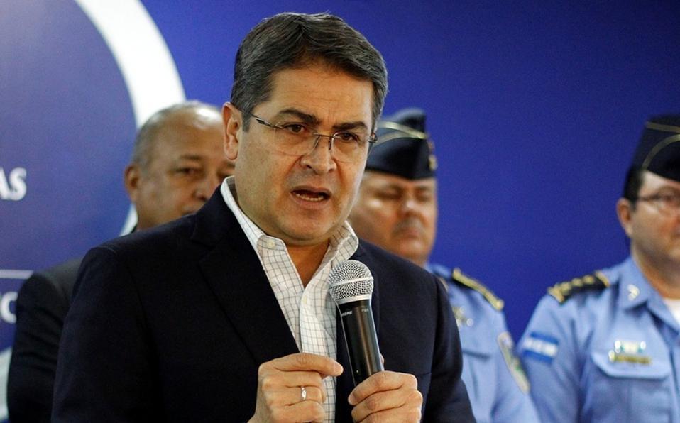 Presidente de Honduras, Juan Orlando Hernández
