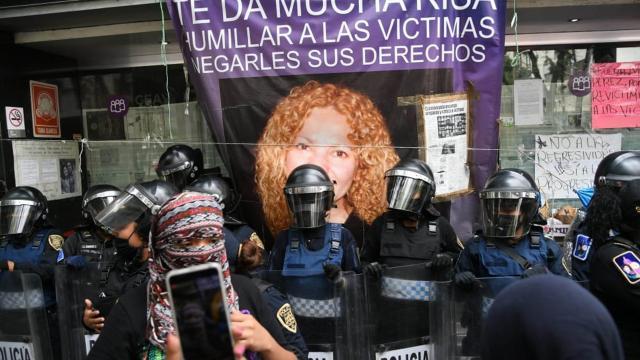Manifestaciones en CEAV