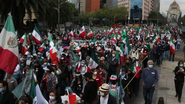 Manifestación Frenaa