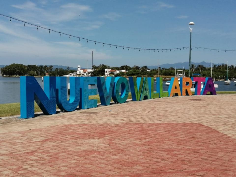 Letras en Nuevo Vallarta