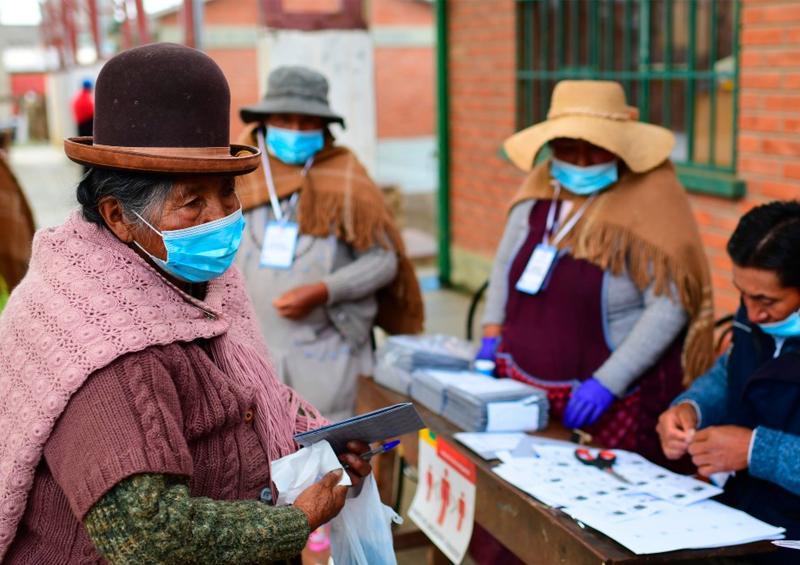 Elecciones Boliva