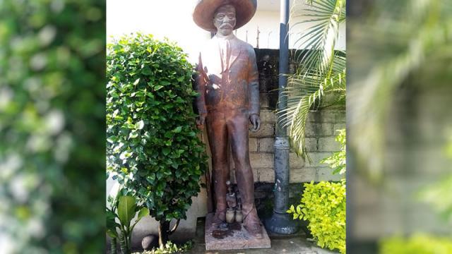 Estatua de Zapata fue encontrada en el Coapinole