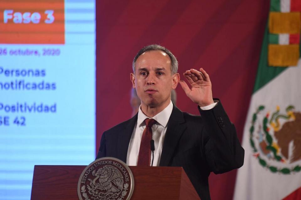 Hugo López Gatell en rueda de prensa