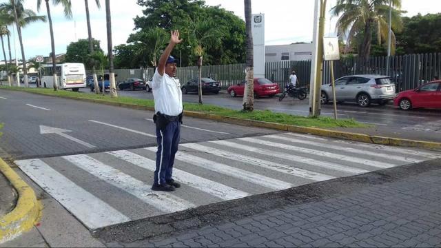 Oficial de tránsito