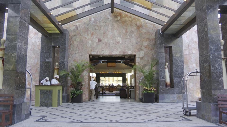 Lobby de Hotel en Puerto Vallarta