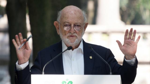 José Sarukhán, titular de la Conabio.