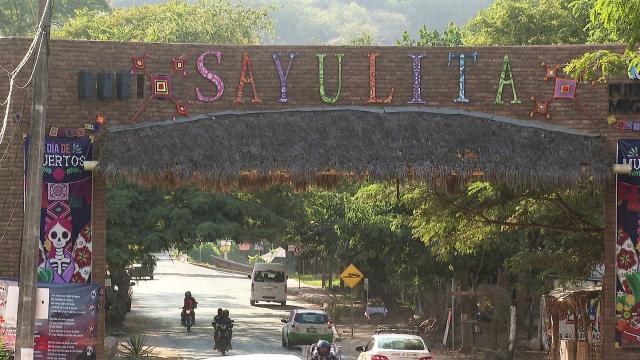 Entrada a Sayulita