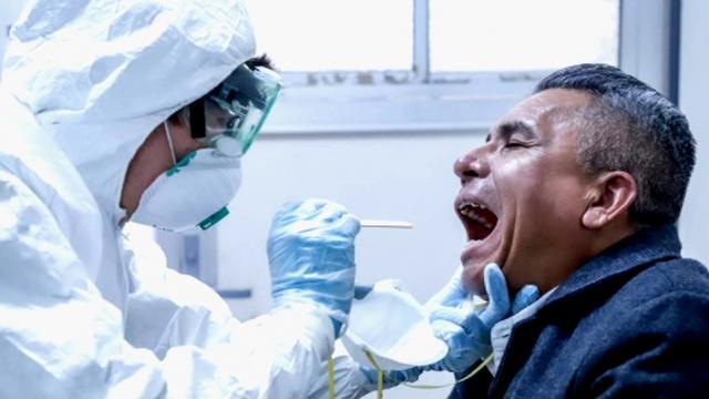 Infectados por covid-19