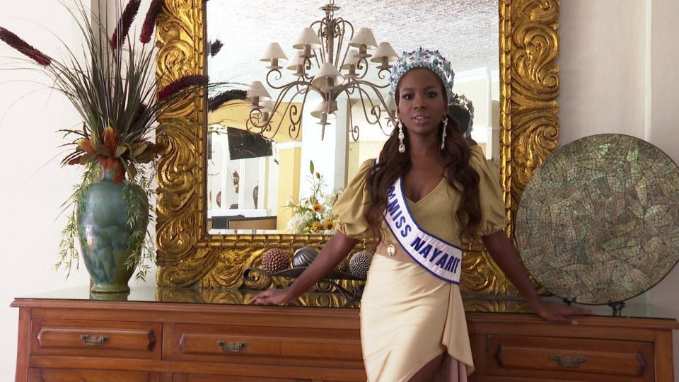 Primer Miss Nayarit afromexicana en el concurso