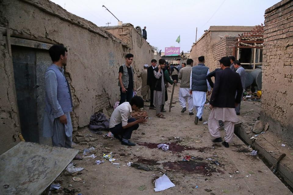 Atentado terrorista en Kabul