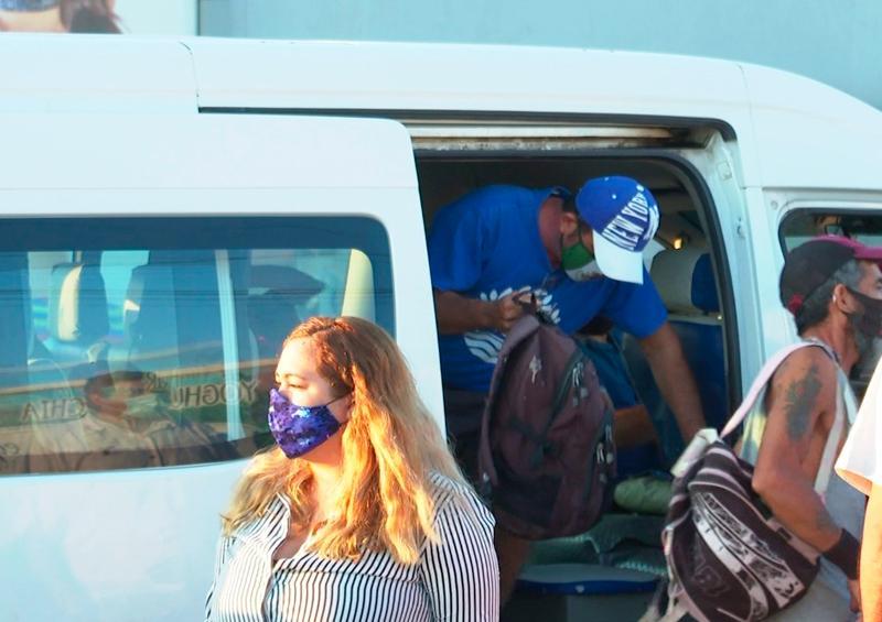 Endurecen medidas en transporte público para uso de cubrebocas