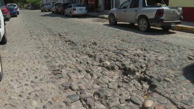 Baches en centro de Vallarta
