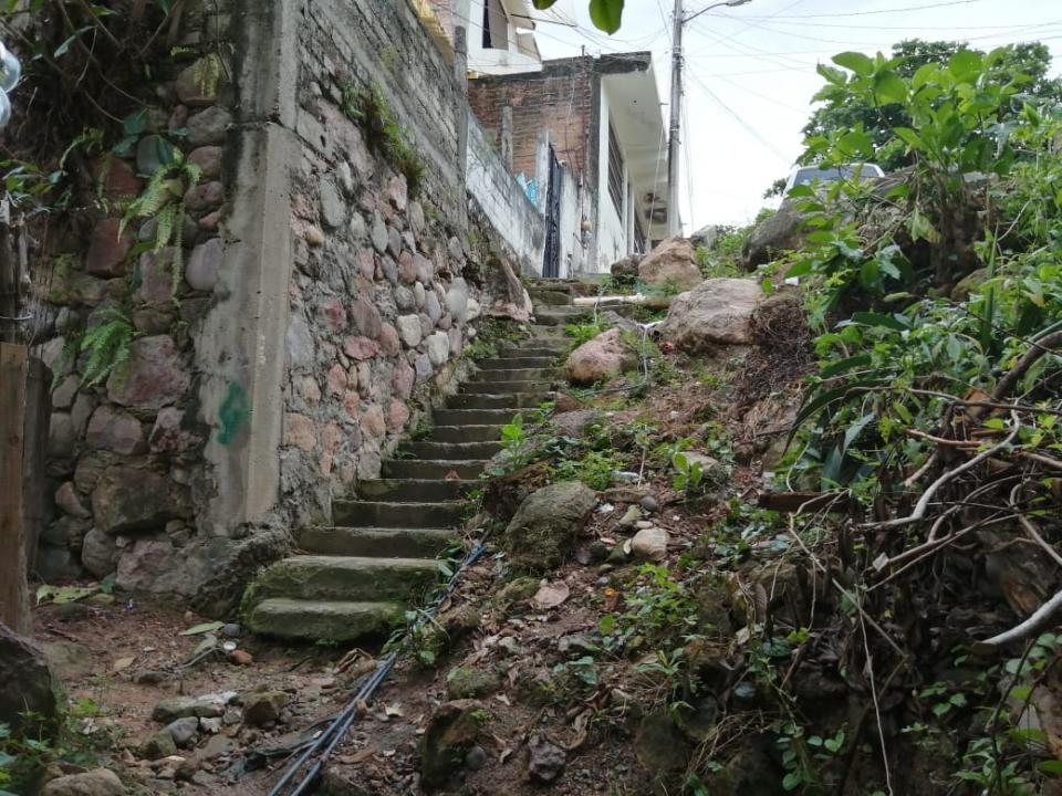 Andador de escaleras
