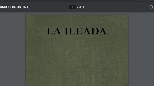 """La """"Ileada"""""""