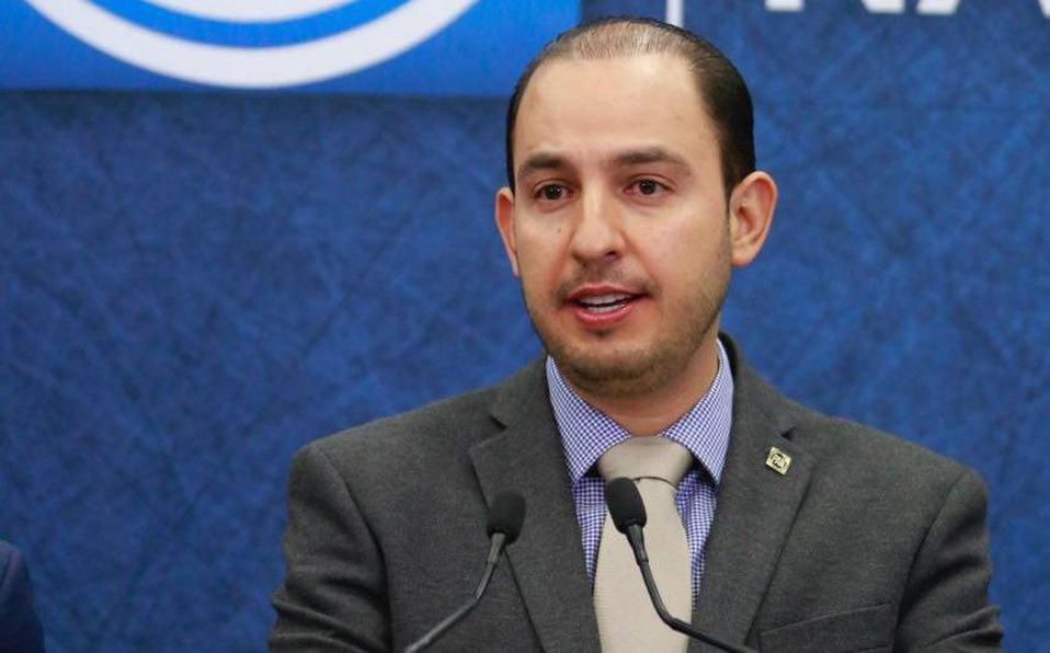 Marko Cortés, líder nacional del PAN