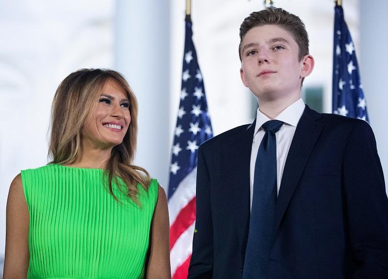 Hijo de Donald y Melania Trump