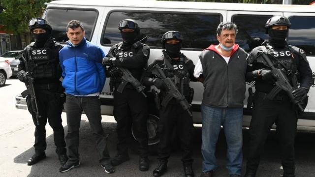 Capturan a sujetos sospechosos de robo de medicamentos