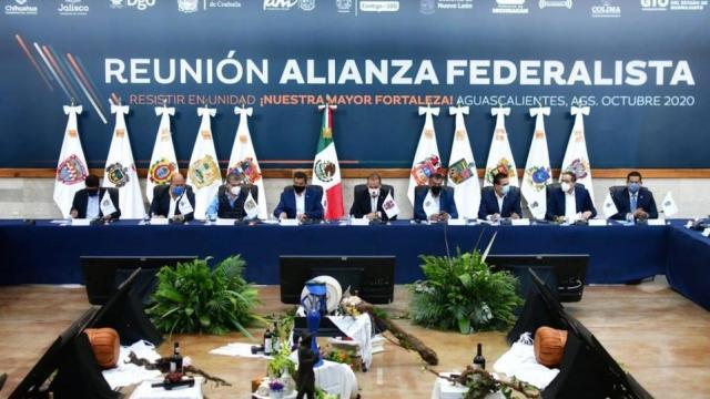 Aguascalientes Reunión Alianza Federalista