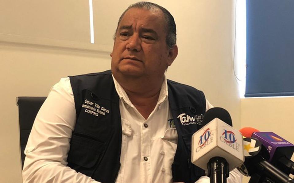 El titular de la Coepris, Óscar Villa Garza