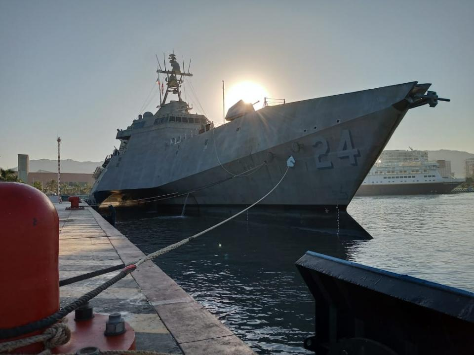 Buque de combate de la Armada de Estados Unidos