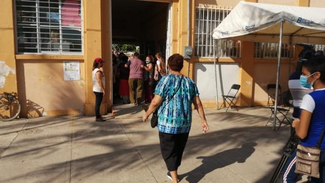 Entrega de apoyos Bienestar en San José del Valle