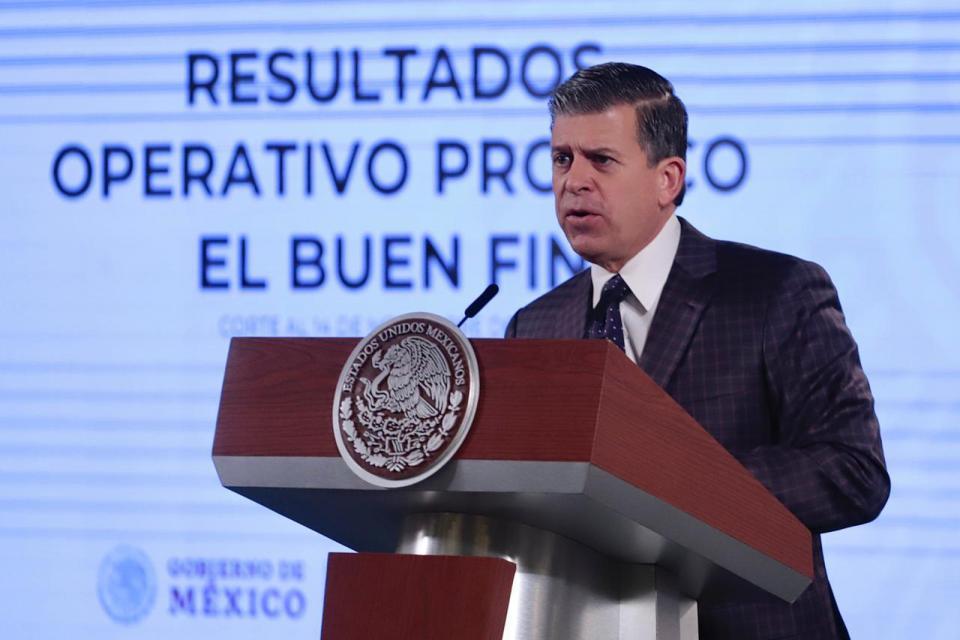 Ricardo Sheffield en conferencia de prensa